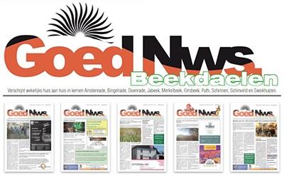 van Breugel Offset | Drukkerij Uitgeverij | Oirsbeek | Zuid-Limburg WEEKBLAD GOED NIEUWS