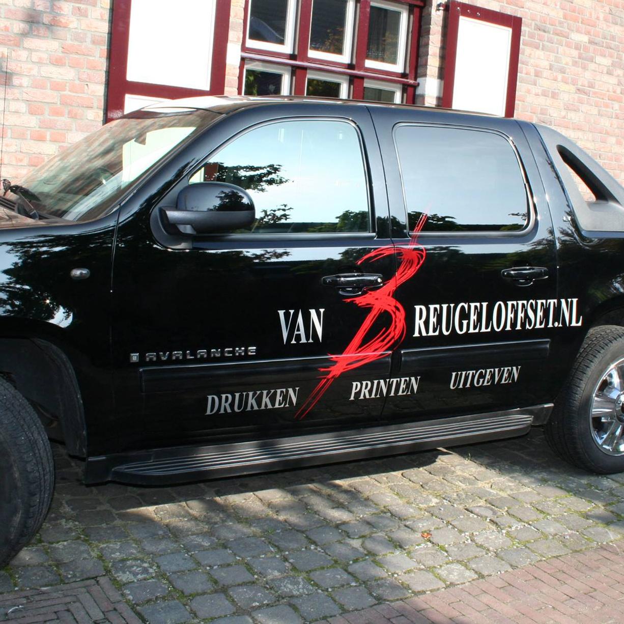 van Breugel Offset | Drukkerij Uitgeverij | Oirsbeek | Zuid-Limburg van Breugel Offset - Auto Belettering